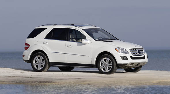 2009 ML350 BlueTEC White