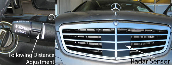 2010 E-Class Distronic Plus Sensor
