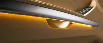 2010 Mercedes-Benz GL-CLass Ambient Lighting