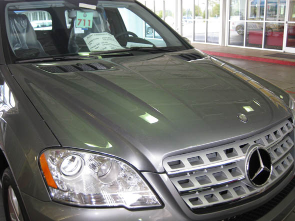 2010 Mercedes ML450 Hybrid New Hood