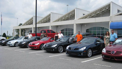 Atlanta Classic Cars SLK Owners Meetup