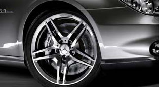 CLS63 AMG 5-Spoke Forged Light Alloy Wheels