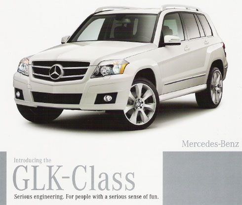 Mercedes Benz GLK Brochure