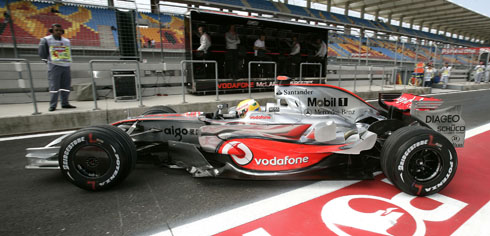 McLaren Mercedes Formula One in Turkey
