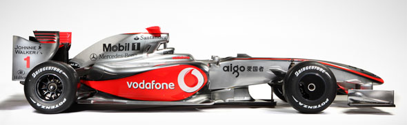 VodaFone McLaren Mercedes MP4-24 Launch 2009 Formula One