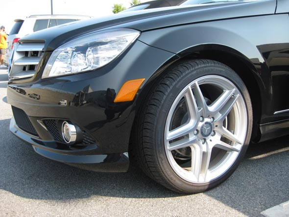 Mercedes 2010 C300 Wheels