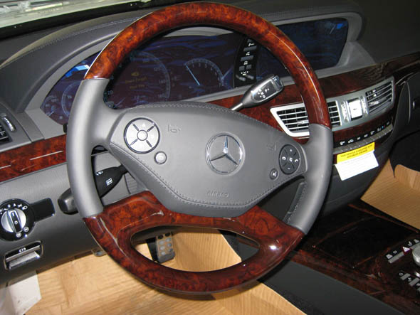 Mercedes 2010 S550 Wood Wheel