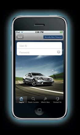 Mercedes-Benz Financial iPhone App
