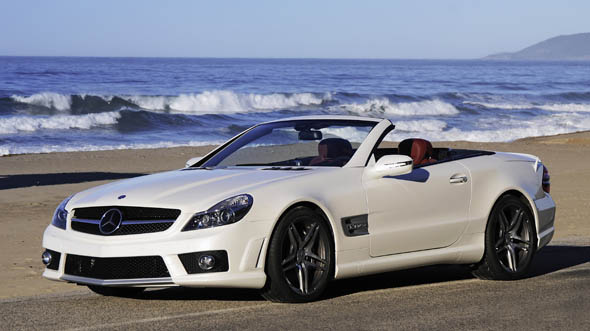 Mercedes-Benz SL65 AMG White