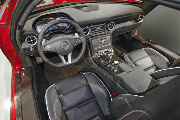 SLS AMG Interior Carbon Fiber Options