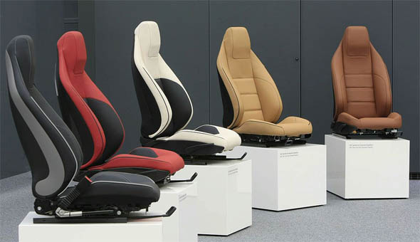 SLS AMG Seat Interior Colors