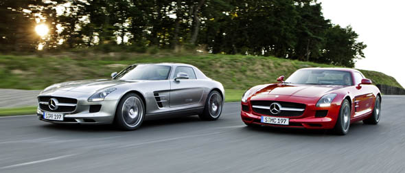 SLS AMG Two on RaceTrack