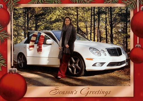 Seasons Greetings from Jesse Cannon-Wallace at Atlanta Classic Cars