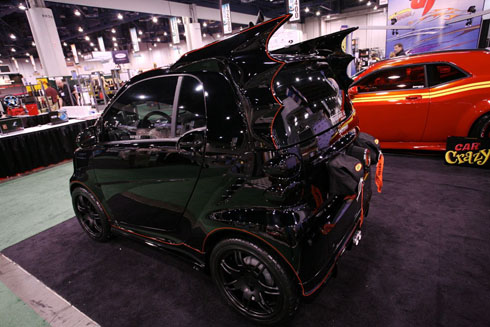 SEMA batsmart Batmobile smart car