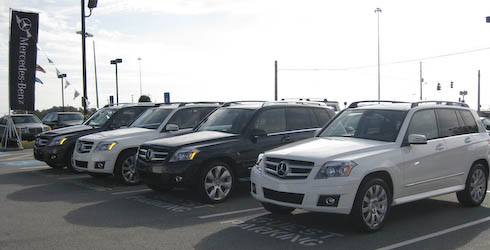 Mercedes Benz 2010 GLK350 Training