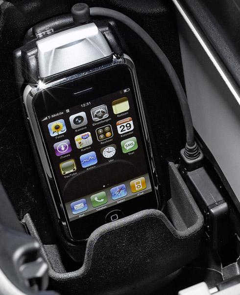 Mercedes-Benz iPhone Cradle